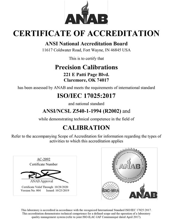 ANAB Certificate Issued 2019 1
