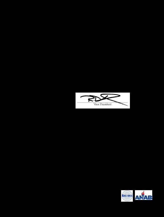PrecisionCalibrationCertScope ANAB V001